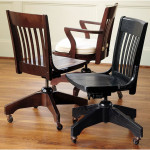 Vintage Wooden Swivel Desk Chair Ideas