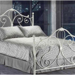 White Twin Wrought Iron Bed Frame
