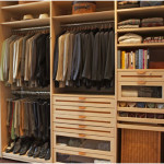 Wooden Walk-In Wardrobe Closet Design