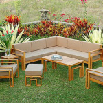 outdoor teak furniture finish