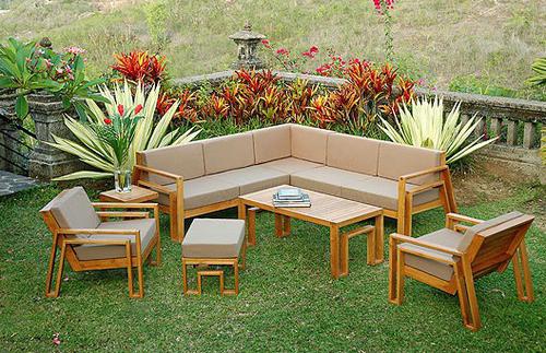 outdoor teak furniture finish