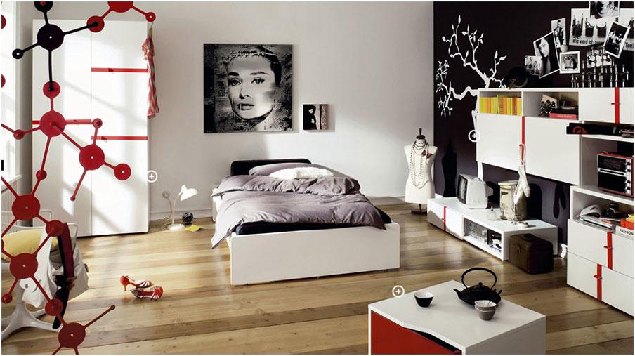 Artistic Inspiring Teenagers Rooms Ideas