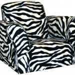 Attractive Zebra Saucer Chair Design Ideas