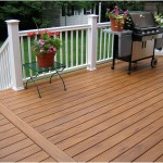 Beautiful Deck Designs Grill Bump Out