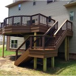 Beautiful Deck Designs Over Walkout Basement