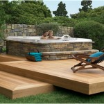 Beautiful Deck Designs to Support a Hot Tub