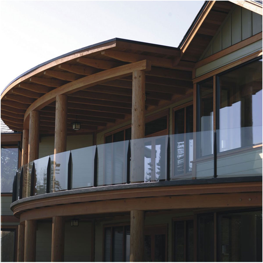 Beautiful Deck Designs With Glass Railing