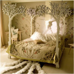 Bright Green Tree Beds Designs for kids