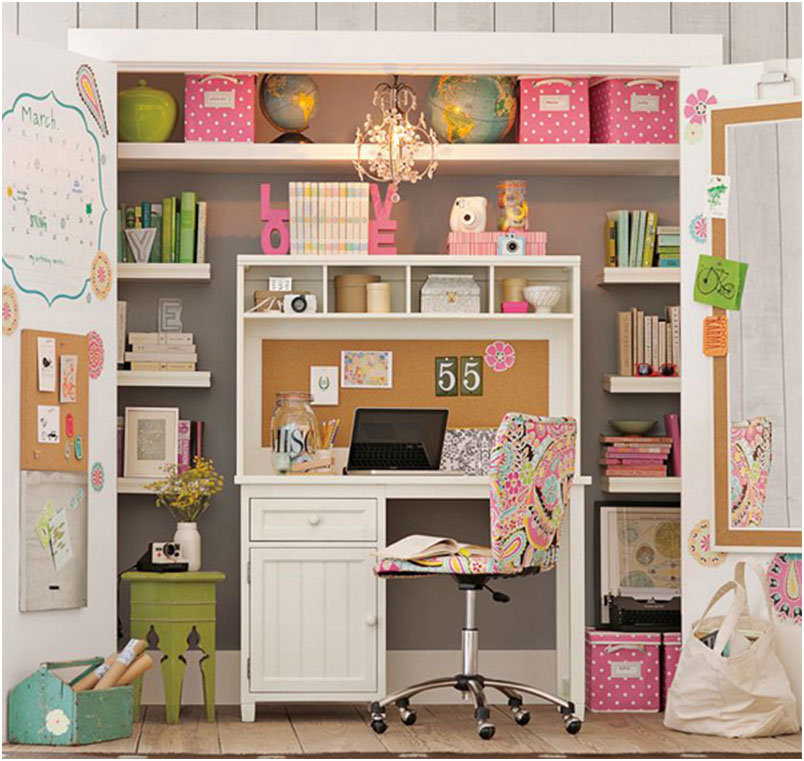 Colorful Stunning Study Space Inspiration For Teens