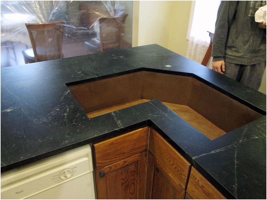 Copper Corner Kitchen Sink Design