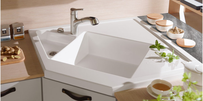 Choosing The Best Corner Kitchen Sink