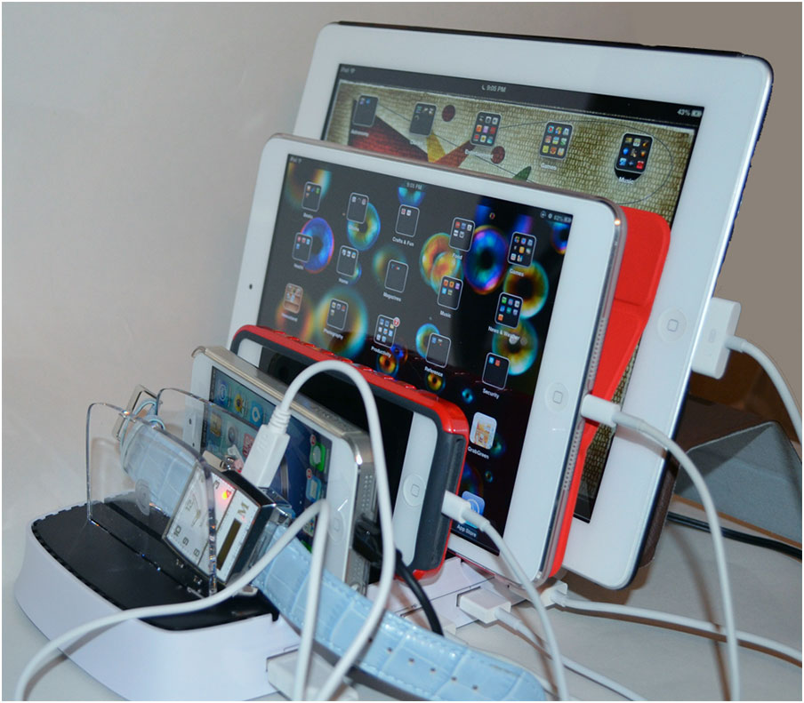 DIY Charging Station For Multiple Devices