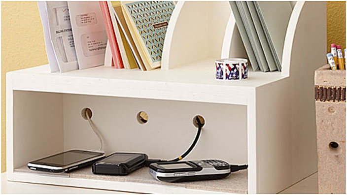 Easy DIY Charging Station Ideas