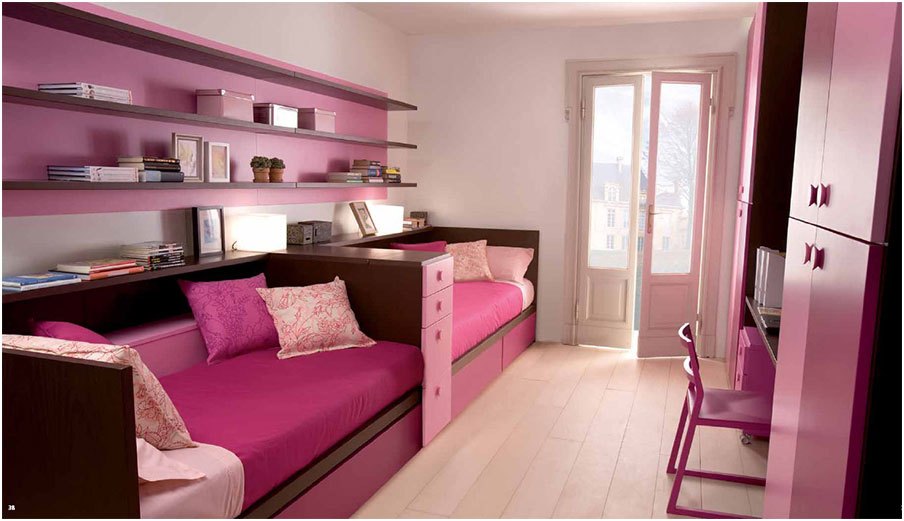 Elegant Princess Girls Bedroom Decorating Ideas