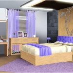 Elegant Purple Inspiring Teenagers Rooms Decorating Ideas