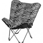 Great Zebra Saucer Chair Design Ideas