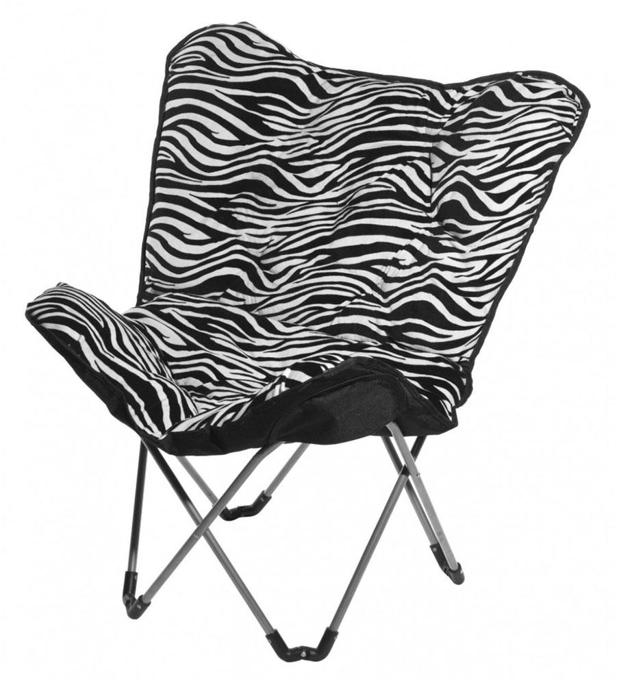 Great Zebra Saucer Chair Design Ideas