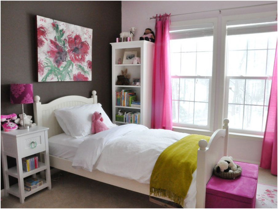 Inspiring Brown And White Teenagers Rooms Decorating Design