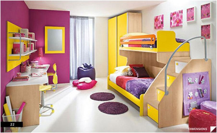 Inspiring Colorfull Teenagers Rooms Design