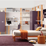 Inspiring Purple Teenagers Rooms Design Ideas