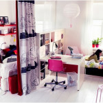 Inspiring Teenagers Rooms Design for Small Room Space