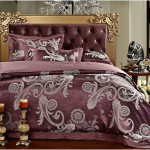 Luxury Comforter Sets with Pillow Headerboard