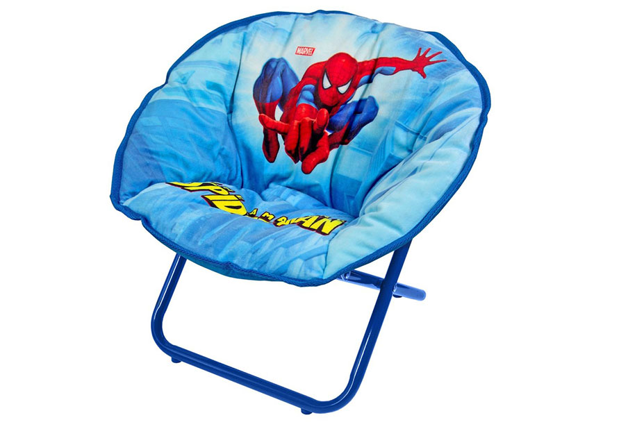 Marvel Spiderman Saucer Chair Design for Kids