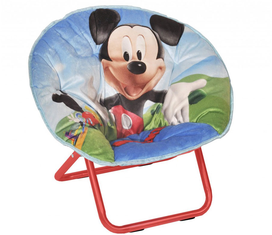 Mickey Mouse Kids Saucer Chair Design