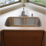 Minimalist Corner Kitchen Sink Stainless Steel
