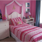 Princess Girls Bedroom Decorating for Small Room