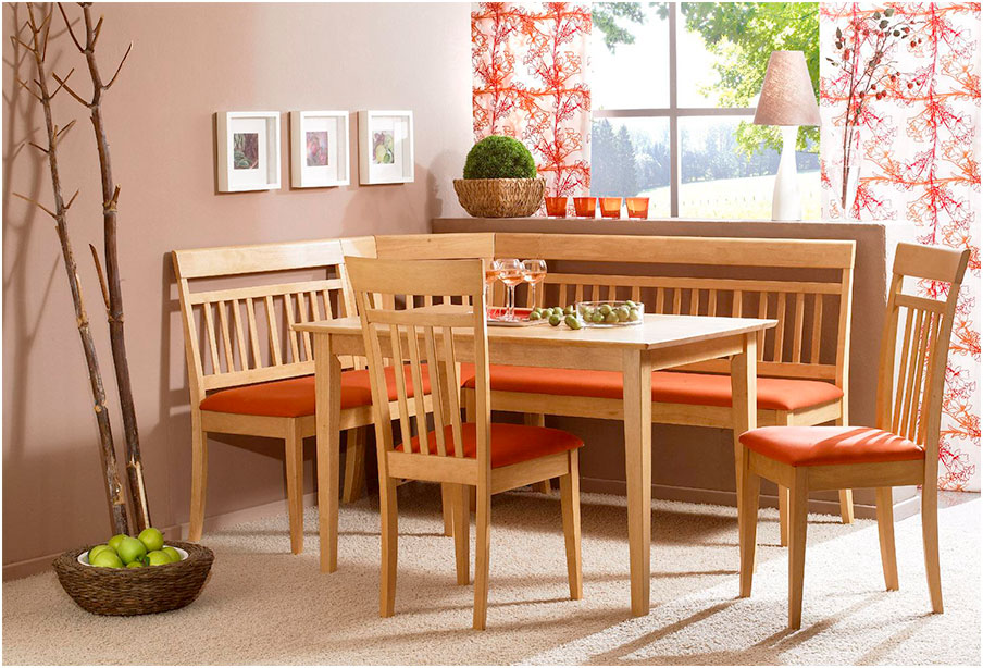 Simple Stylish Corner Kitchen Tables Ideas