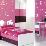Small Princess Bedroom Decoration for Girls
