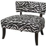 Small Zebra Saucer Chair Design Ideas