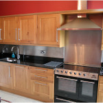 Stainless Steel Backsplash Design