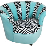 The combination of Appealing Turquoise Zebra Saucer Chair Design Ideas