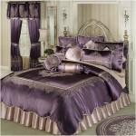 Vintage Luxury Comforter Set Dusty Purple