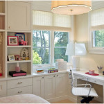 White Stunning Study Space Inspiration For Teens