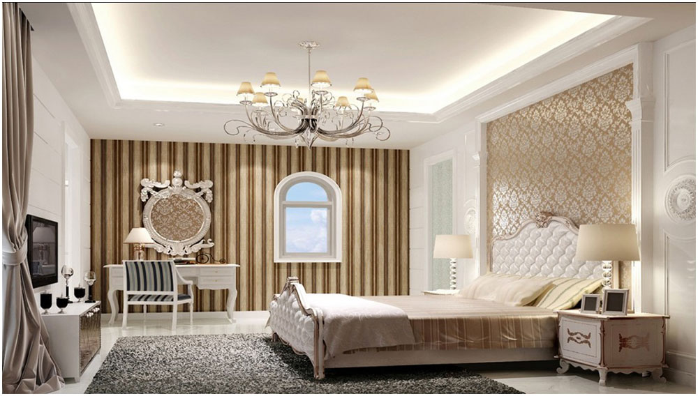 Elegance Bedroom in European Home Design