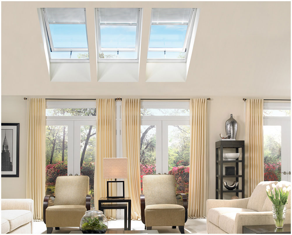Home Exterior Skylights Improvement for Efficient Energy