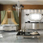 Luxurious European Bathroom Home Design