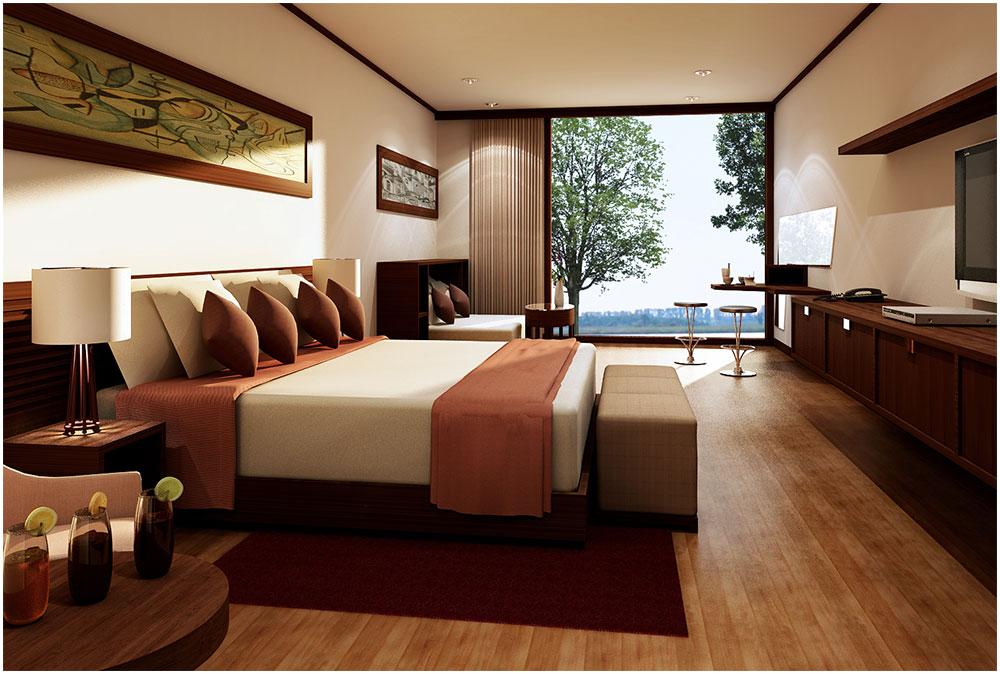 Minimalist Arrangement For Light Bedroom Design