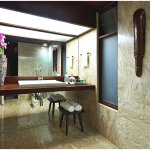Minimalist Tropical Bathroom Design Ideas