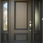 Minimalist Wood Front Doors Design