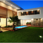 Modern Home Backyard Planning ideas