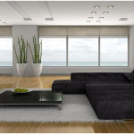 Modern Home Living Room Decoration With Pleasant Arrangement