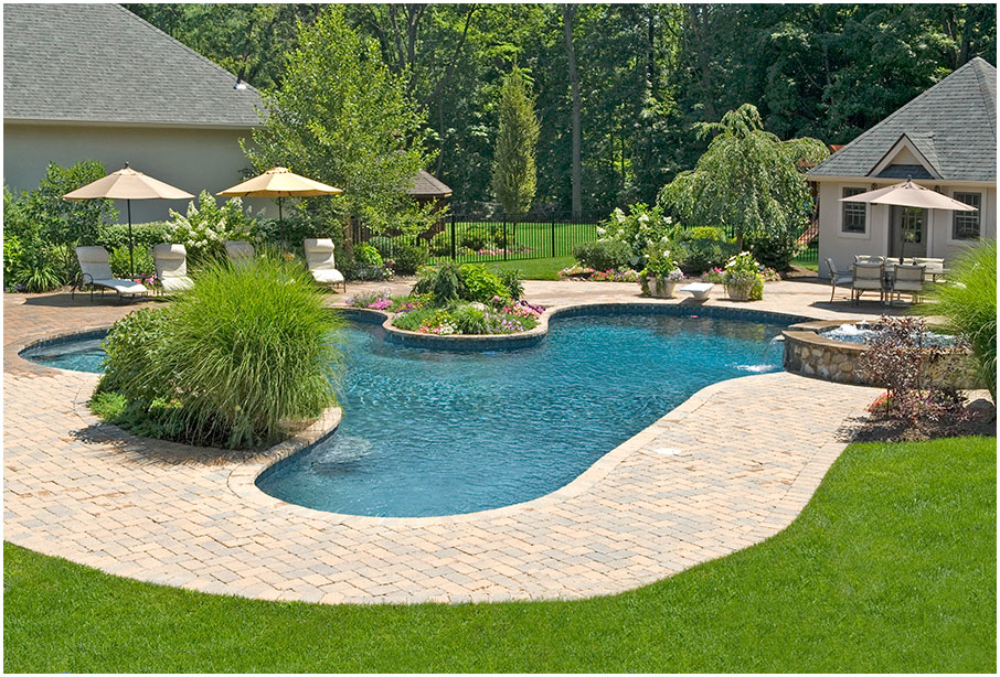 Modern Landscape Design Ideas with Pool