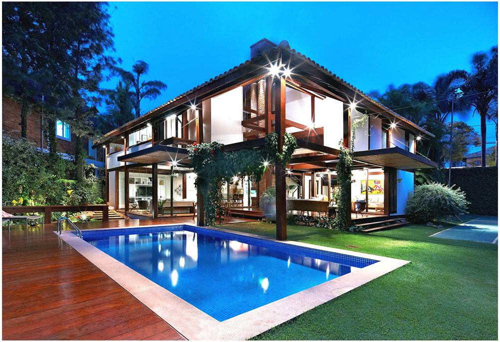 Modern Tropical Home Design Coziness Ideas