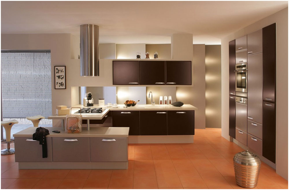 Planning Home Decoration Project For Modern French Kitchen