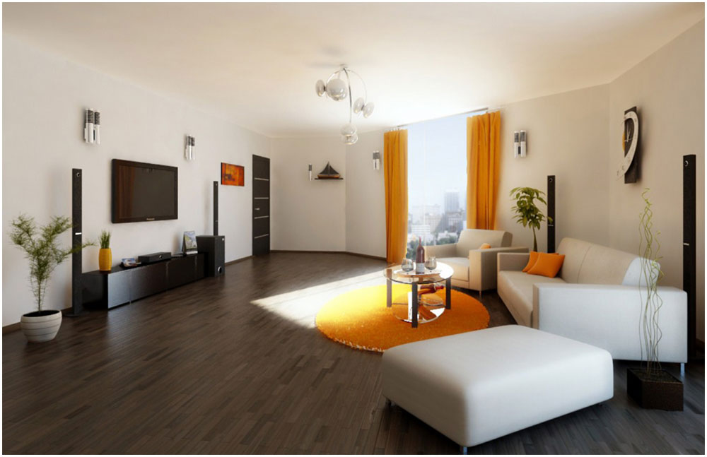 Planning Home Decoration Project for Modern Living Room