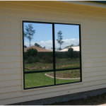 Silver Mirror Window Film Application